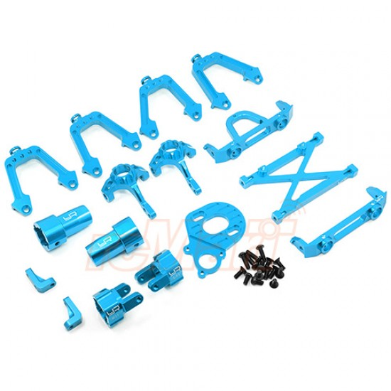 Aluminum Essential Conversion Kit For Axial SCX10 Blue