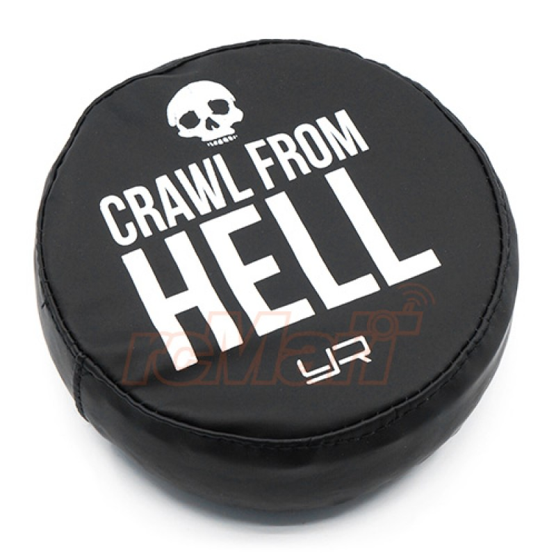 1/10 Tire Cover For 1.9 Crawler Wheels - Crawl From Hell