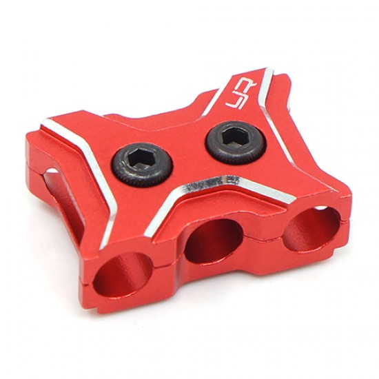 Aluminum Case 12-14 Gauge Wire Guard Clamp Type A Red
