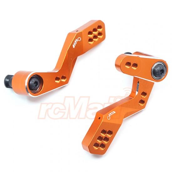 Aluminum Big Angle Steering for Sprint2 RWD Drift SPT2-S04 Orange