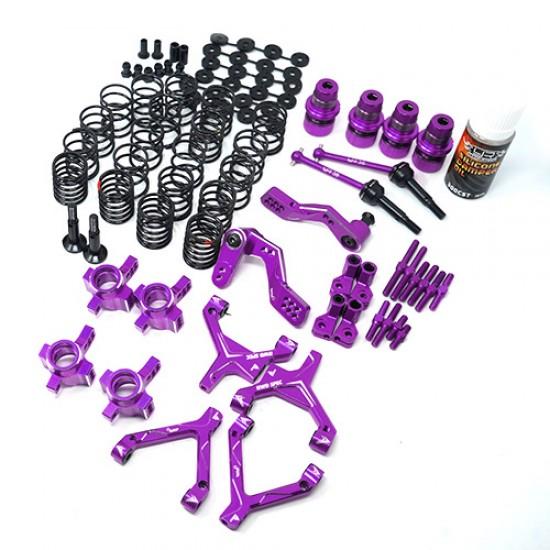 RWD Drift Conversion Kit for HPI Sprint 2 Purple