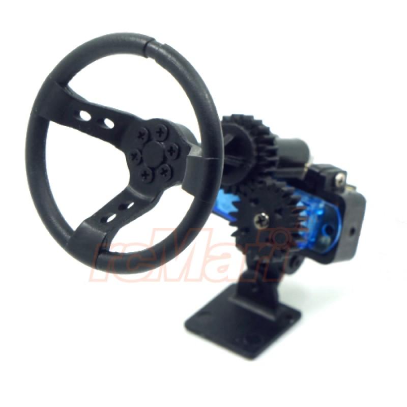 X DarkDragonWing Motion Steering Wheel For 1:10 Touring Drift RC Car