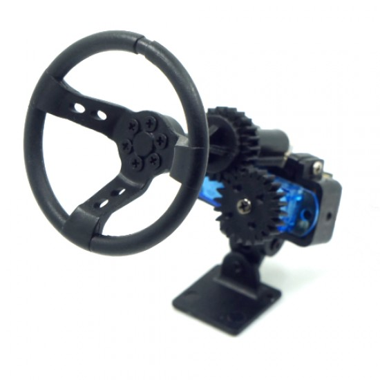 X DarkDragonWing Motion Steering Wheel For 1:10 Touring Drift RC Car