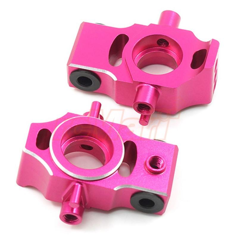 Aluminum Rear Suspension Upright For 3Racing Sakura D4 Pink
