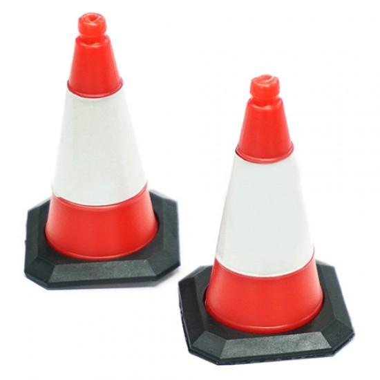 1/10 Scale Traffic Cone Accessory 4pcs