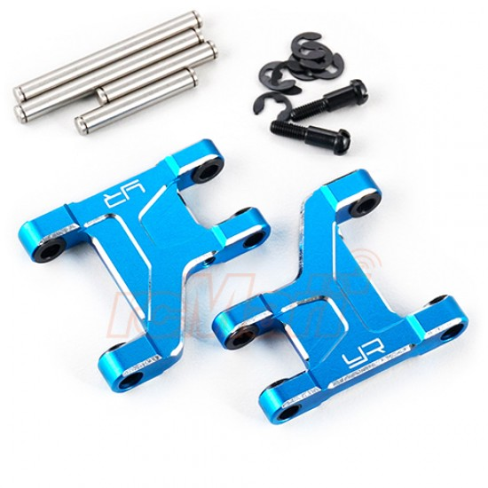 Aluminum Front Lower Suspension Arm Blue For Tamiya CC01