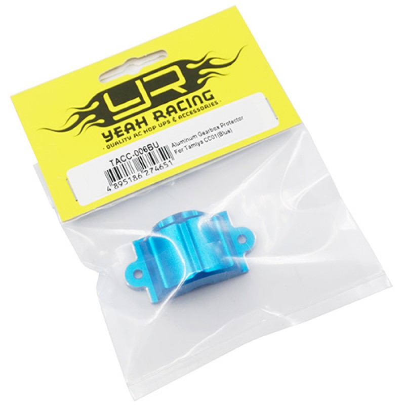 Aluminum Gearbox Protector For Tamiya CC01 Blue