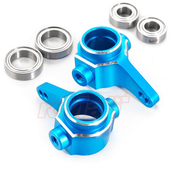Aluminum Steering Knuckle Blue For Tamiya CC01 Blue
