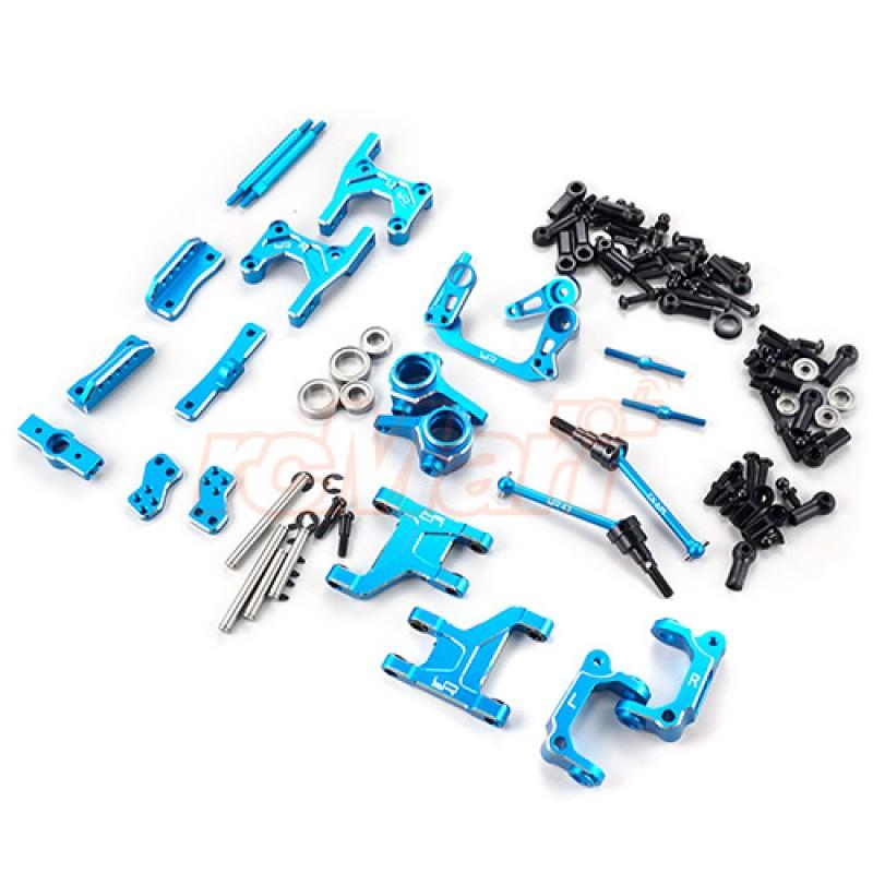 Aluminum Essential Conversion Kit For Tamiya CC01 Blue