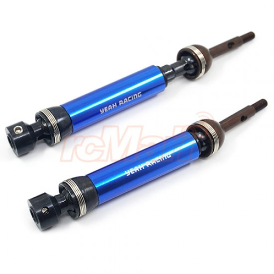 HD Tool Steel Rear Universal Drive Shafts for Traxxas 1/10 Slash Stampede 4X4 Blue