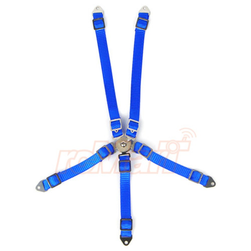 1/10 RC Scale Accessory Safety Belt Blue