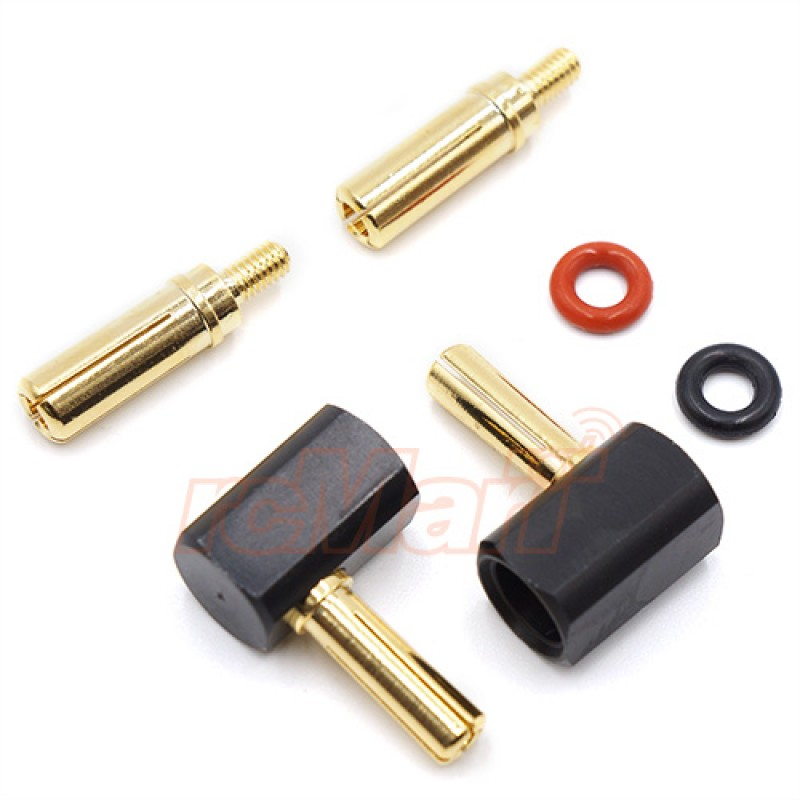 Angle Type 4mm & 5mm Connector Plug