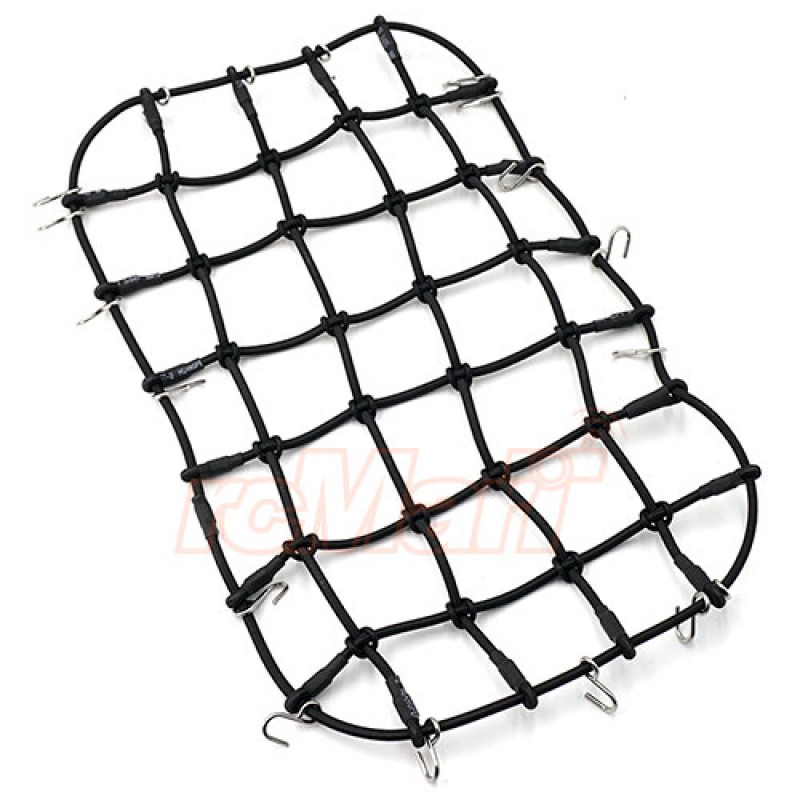 1/10 Scale Accessory Luggage Net 250mm x 150mm Black For Traxxas TRX-4