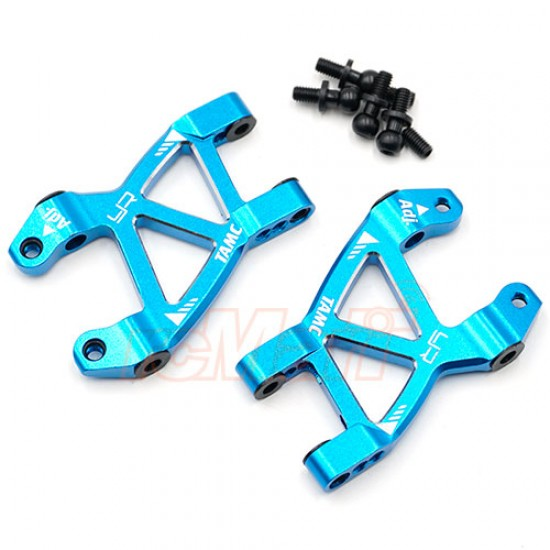 Aluminum Rear Suspension Arm Set For Tamiya M07 M08 Blue