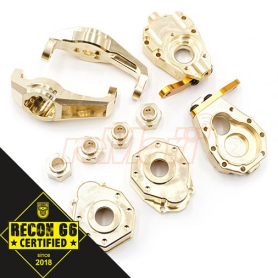Brass Upgrade Parts Set For Traxxas TRX-4 TRX4-6 'G6 Certified'