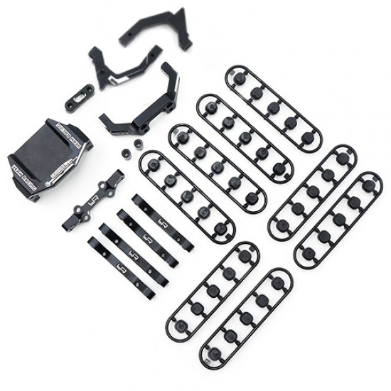 Aluminum Suspension and Steering Performance Upgrade Kit For Yokomo YD2 YD2S YD2TC Black