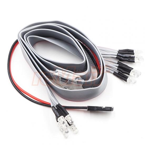 Dark Drifter II Ultra Bright LED Flat Cable Light Set