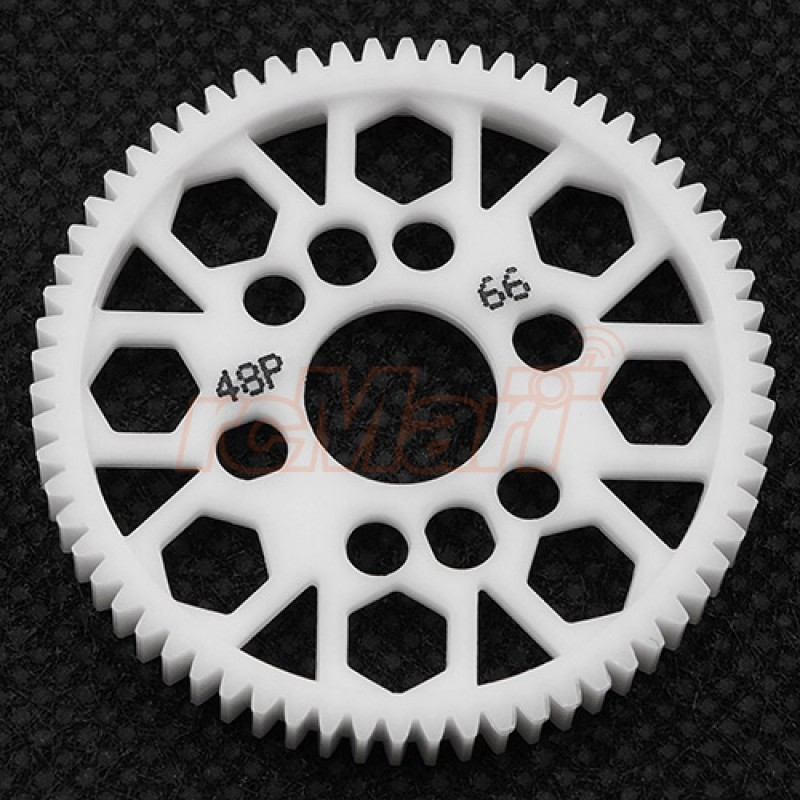 Competition Delrin Spur Gear 48P 66T For 1/10 On Road Touring Drift