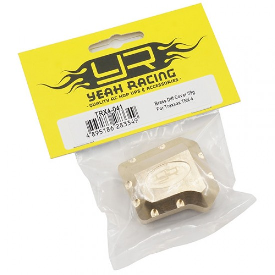 Brass Diff Cover 65g For Traxxas TRX-4 TRX-6 'G6 Certified'