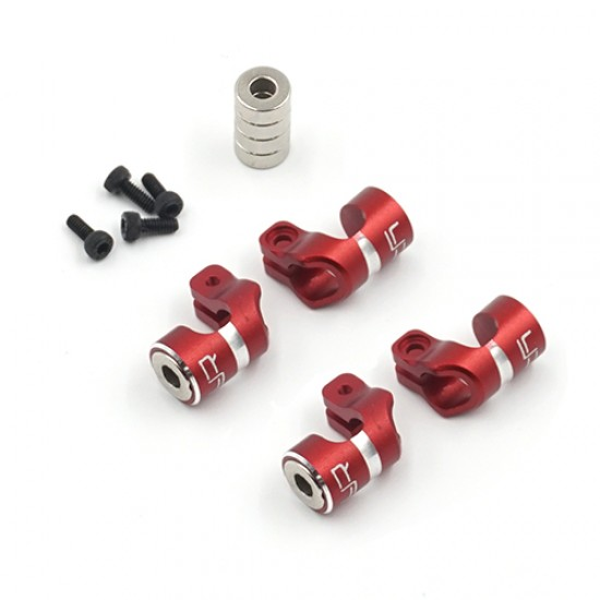 Aluminum Magnetic Body Hole Marker Red For 6mm Bodyposts