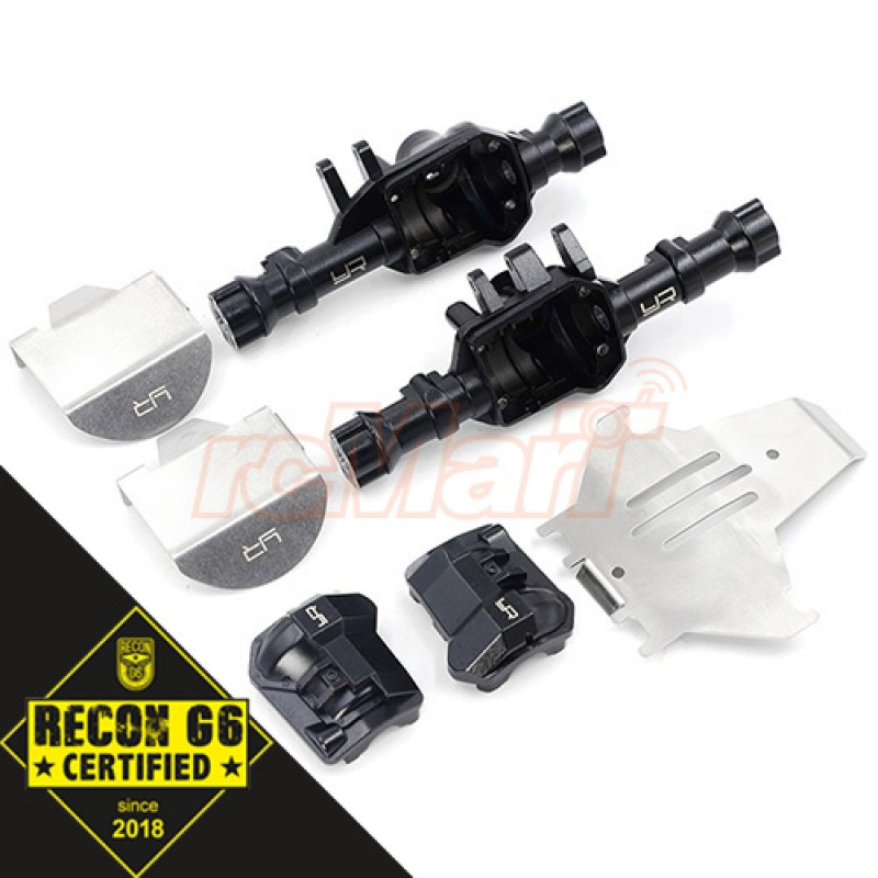 Full Metal Axle Housing Upgrade Set For Traxxas TRX-4 'G6 Certified'