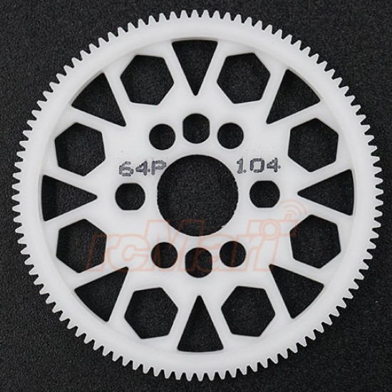 Competition Delrin Spur Gear 64P 104T For 1/10 On Road Touring Drift