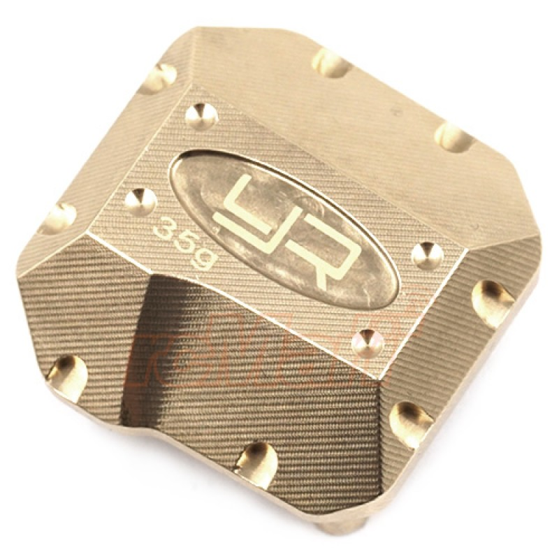 Brass Diff Cover 35g For Axial SCX10 II