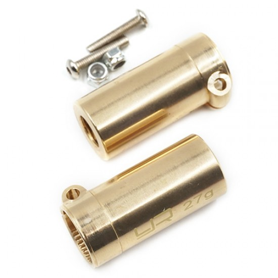 Brass Rear Axle Lock Out 2pcs For Axial SCX10 II