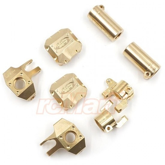 Brass Upgrade Parts Set For Axial SCX10 II