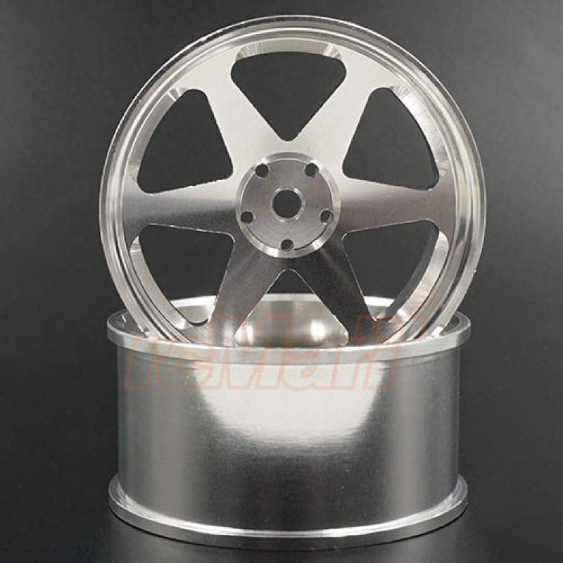 Spec D Plus Aluminum 7075 6 Spoke +6 Offset Drift Rim 2pcs