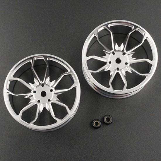 Spec D Plus Aluminum 7075 10 Spoke +8 Offset Drift Rim 2pcs