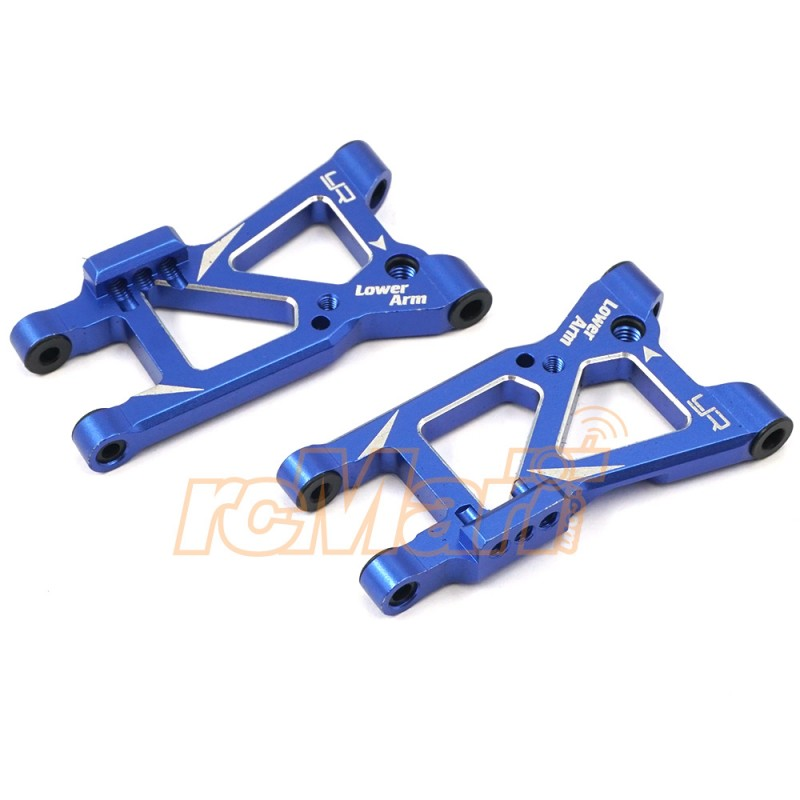 Aluminum Rear Lower Arm Set Blue For Traxxas Ford GT 4 Tec 2.0