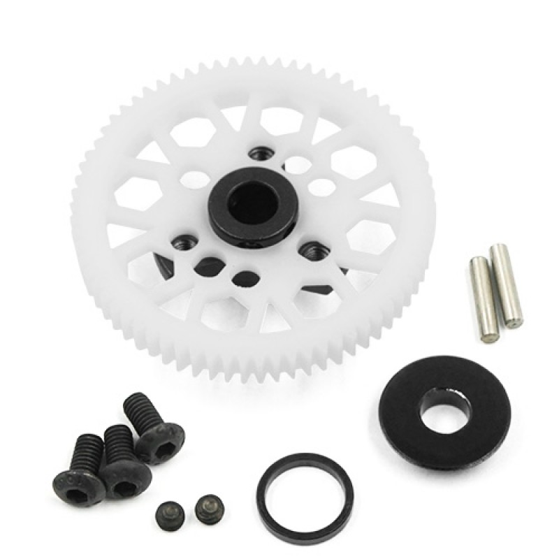 Aluminum Spur Gear Adapter Black For Traxxas Ford GT 4 Tec 2.0