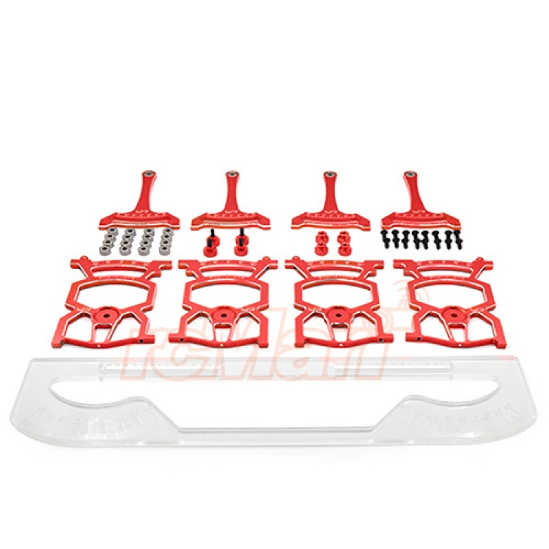 Universal Set Up System Ver.2 For 1/10 On Road Red