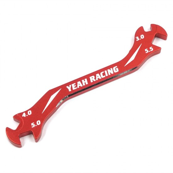 Aluminum 7075 Turnbuckle Wrench 3mm 4mm 5mm 5.5mm Red