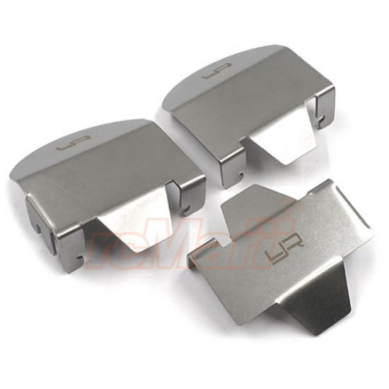 Stainless Steel Differential Protector Set For Traxxas TRX-6
