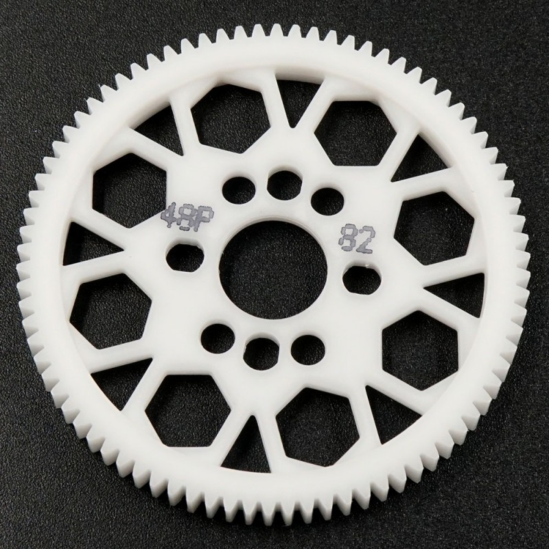 Competition Delrin Spur Gear 48P 82T For 1/10 On Road Touring Drift