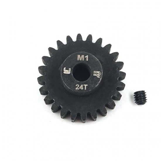 24T HD Steel Mod1 5mm Bore Motor Gear Pinion