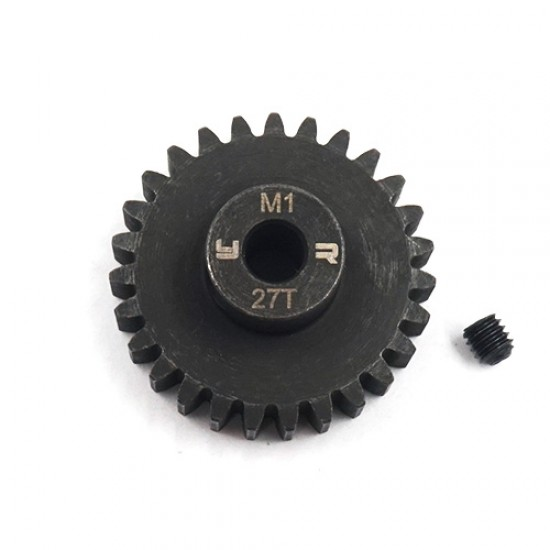27T HD Steel Mod1 5mm Bore Motor Gear Pinion
