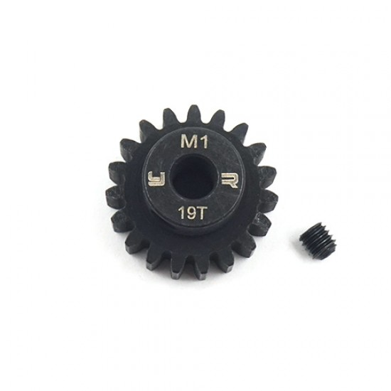 19T HD Steel Mod1 5mm Bore Motor Gear Pinion