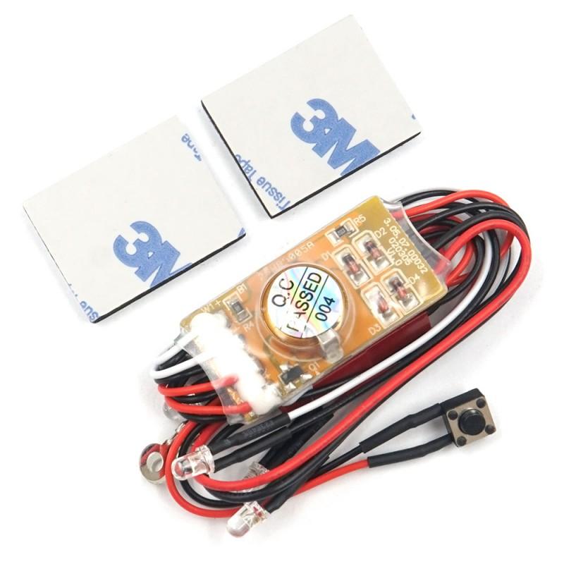 LED Light Kit For Kyosho Mini-Z MR02 MR03 AWD