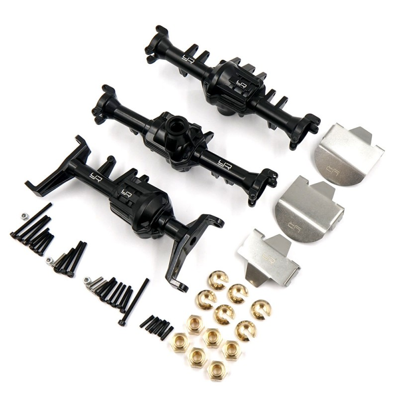 Full Metal Axle Housing & Upgrade Parts Set For Traxxas TRX-6