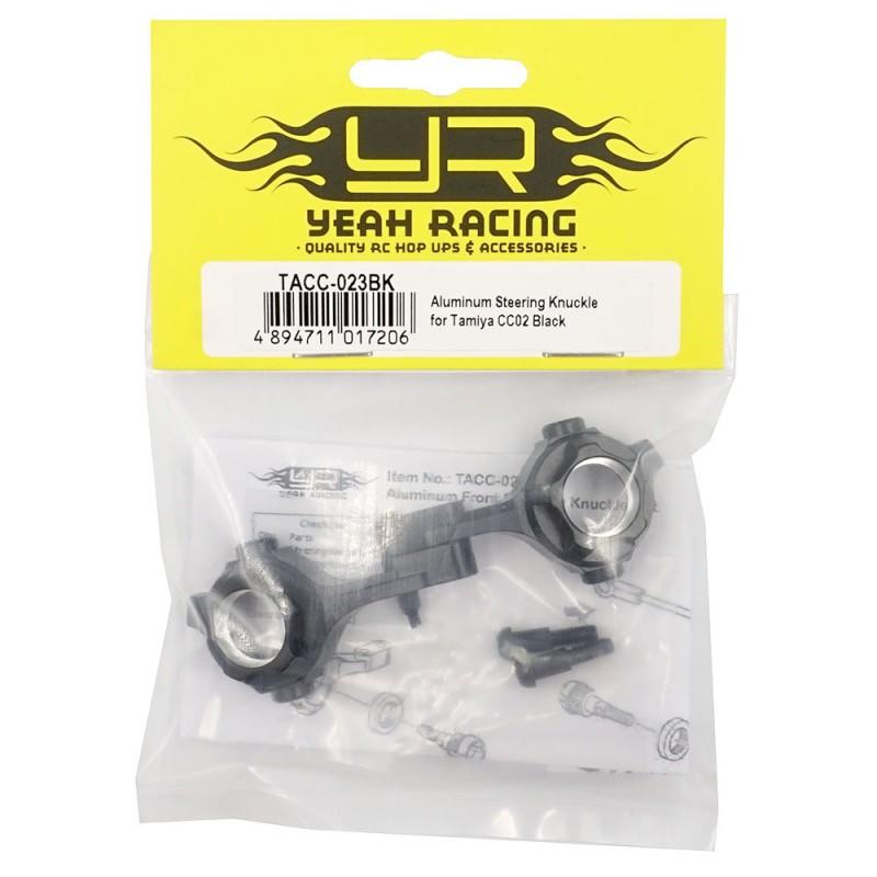 Aluminum Steering Knuckle for Tamiya CC02 Black