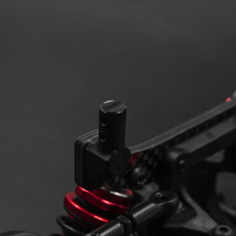 Aluminum 6mm Body Post Cutter Trimmer Black