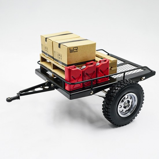 1/10 Metal Leaf Spring Hitch Mount Trailer V2