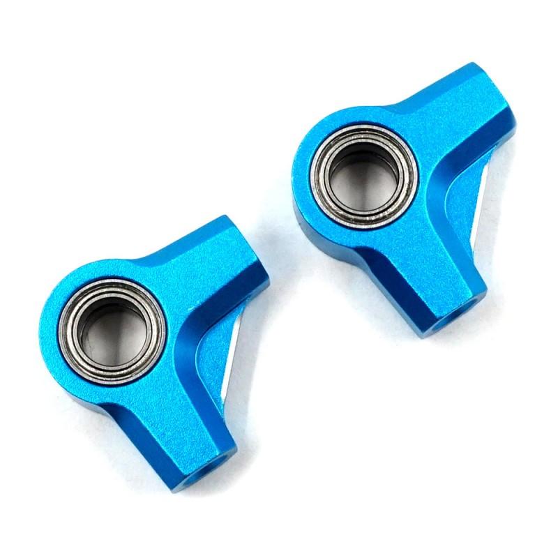 Aluminum Rocker Arms 2 pcs Blue For Tamiya TC01