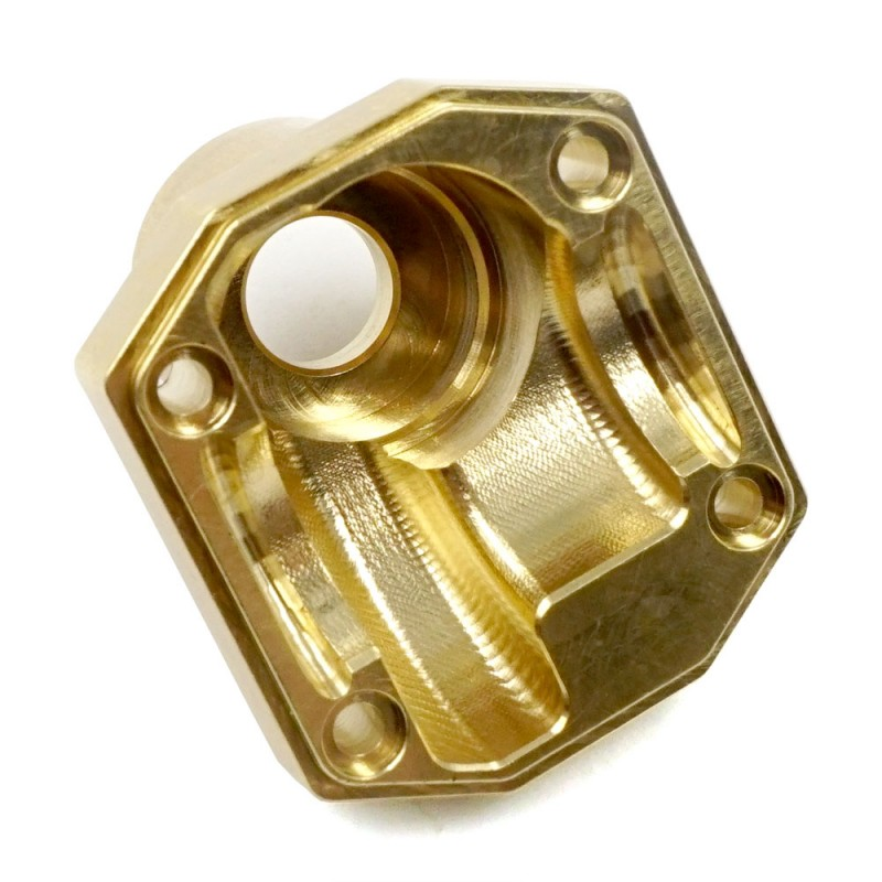 Brass Currie F9 Portal Cover 56g For Axial Capra