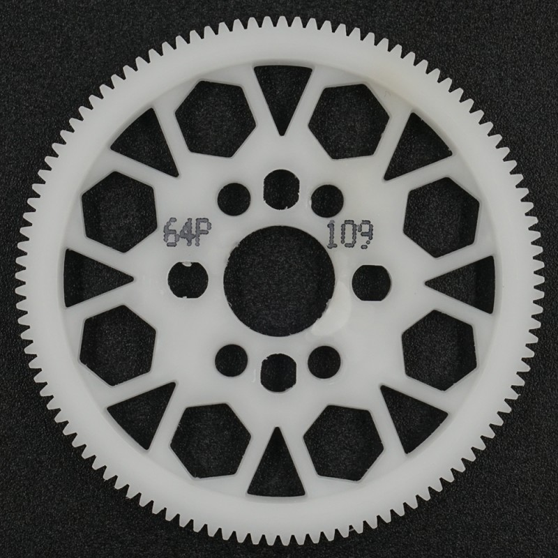Competition Delrin Spur Gear 64P 109T For 1/10 On Road Touring Drift