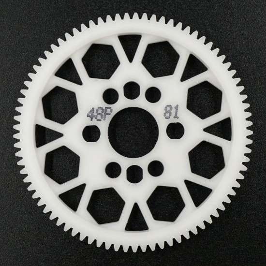 Competition Delrin Spur Gear 48P 81T For 1/10 On Road Touring Drift