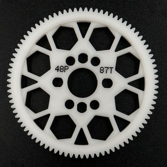 Competition Delrin Spur Gear 48P 87T For 1/10 On Road Touring Drift